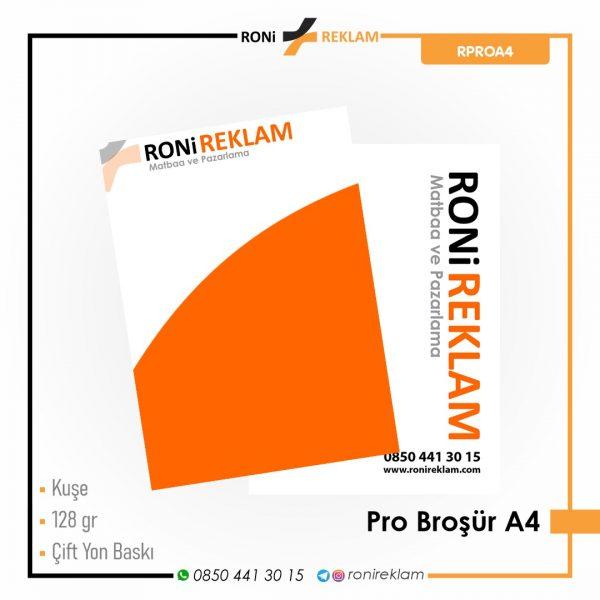 Pro Broşür A4 Baskı