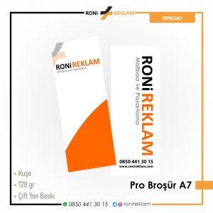 Pro Broşür A7 Baskı