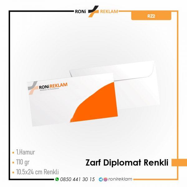 Diplomat Zarf Baskı