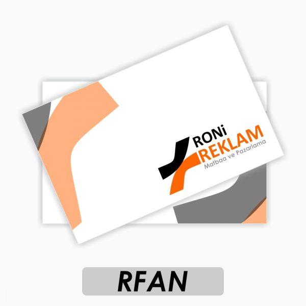 Tuale Fantezi Kartvizit (RFAN)
