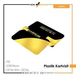 Plastik Kartvizit