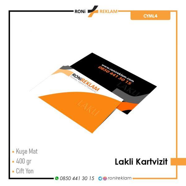 Lakli Kartvizit (RCYML4) Baskı