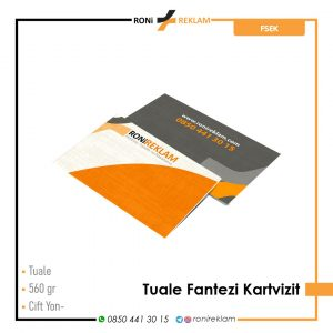 Tuale Fantazi Kartvizit Baskı