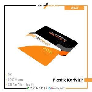 Plastik Kartvizit Baskı