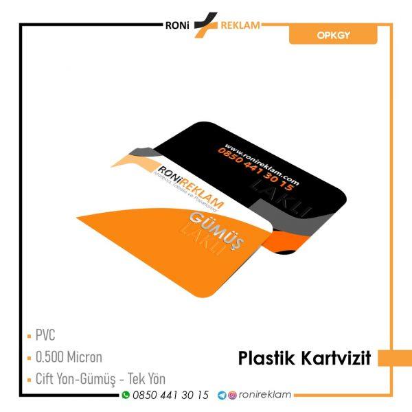 Plastik Kartvizit (ROPKGY) Baskı