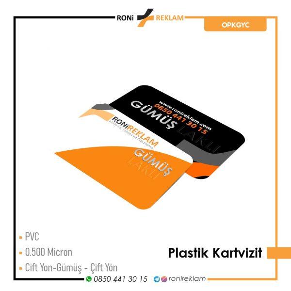 Plastik Kartvizit (ROPKGYC) Baskı