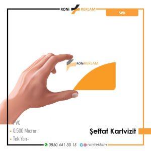 Şeffaf Kartvizit